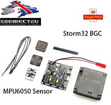 NEW 2016 UK Storm32BGC 32-bit Brushless Gimbal Control Board With MPU6050 Sensor