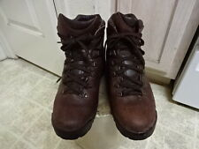 VINTAGE MADE IN ITALY VASQUE GORE TEX HIKING BOOTS MEN 11.5 ALL LEATHER GOOD CON