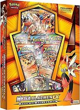 Mega Blaziken EX Premium Collection Booster Box POKEMON TCG 8 Booster Packs