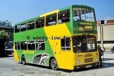pt9900 - Badgerline Bus E215 BTA at Bath in 1994 - photograph