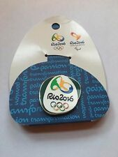Rio 2016 Olympics Pin Badges Brand New on Backing Card - Various Colours
