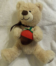 LOT # 927 BERRY LOVED BEAR with STRAWBERRY 10 inch EDIBLE ARRANGEMENTS 2013.