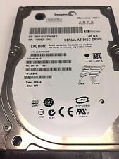 "Seagate ST940814AS 9S1131-030 FW:3.CDD WU 40gb 2.5"" Sata Hard Drive"