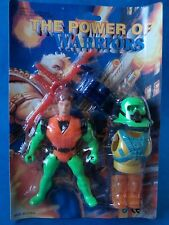 Vintage Figure - THE POWER OF WARRIORS - Bootleg Earth Force Toy