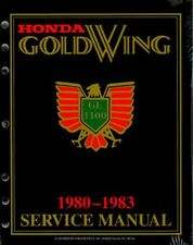 1980-1983 Honda GL1100 Gold Wing Motorcycle Service Manual : GL11-83