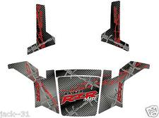 NG racing WRAP QUAD POLARIS RANGER RZR 170 MINI UTV BARBED WIRE GREY 2009 - 2013