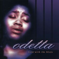 Livin With The Blues - Odetta (2000, CD NEUF)