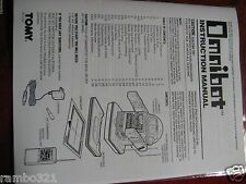 Tomy Omnibot Robot Manual - Tomy Omnibot 5402 1984 Professionally Printed Manual