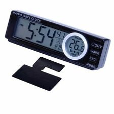 Seiko Sangyo Japan EA-49 Car Wireless Clock Calendar Thermometer with LED Light