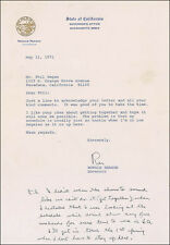 RONALD REAGAN - TYPED LETTER SIGNED 05/11/1971