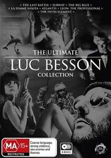 LUC BESSON -  THE ULTIMATE COLLECTION (8 DVD SET) BRAND NEW!!! SEALED!!!