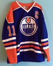 Edmonton Oilers Mark Messier 11 Official Vintage Hockey Jersey CCM Size 50