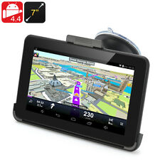 7 Inch Android 4.4 GPS Navigation - 800x480 Touchscreen, FM Transmit