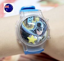 Boy Kid Children Batman bat man Superhero LED Digital Wrist Watch birthday Gift