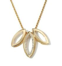 """Joan Hornig Gold Tone """"Love Me Knot"""" Pendants with 18 """" Rope Chain & 3"""" Extender"""