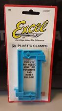 """Brand new Excel 55663 - Small Clamp 1"""" by 3-1/2""""  Set of two"""