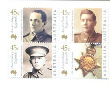 Australia-Last Anzacs mnh set - Military-Victoria Cross
