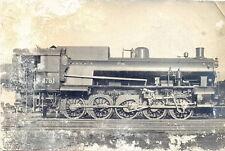 Treno foto locomotrice a vapore motrice gruppo 472 ferrovie italia anni 30