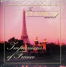 Brand New In Classical Mood: Impressions of France #39 CD & Book Debussy Bizet..