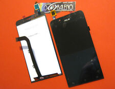 DISPLAY LCD+TOUCH SCREEN PER ASUS ZENFONE GO ZC500TG VETRO COVER ASSEMBLATO NERO