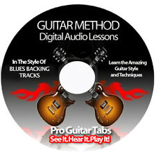 BLUES GUITAR BACKING TRACKS CD + FREE BONUSES