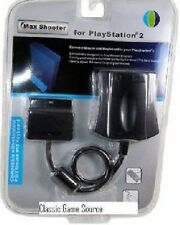 Max Shooter FPS Use PC Mouse & Keyboard Converter Adapter for PS2 Playstation 2