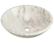 MR Direct 850W White Granite Vessel Sink