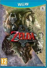 THE LEGEND OF ZELDA TWILIGHT PRINCESS HD PAL VERSION SEALED FOR NINTENDO WII U