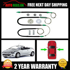 PEUGEOT 206CC CABRIOLET WINDOW REGULATOR REPAIR KIT FRONT LEFT NSF 2000-2008