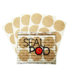 Sealpod Tea Sticker Paper Lids Set of 102pcs For Nespresso Machines