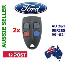 2x Ford AU Falcon/FPV/XR6/XR8 Car Series 2 & 3 99'-02' AU2/AU3 remote key