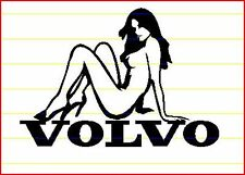 VOLVO SEXY LADY OVER BADGE STICKER-V70 XC90 S60 S40 V50 V40 C70 S80-LOOKS GOOD