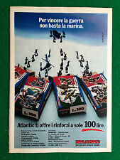 PX18 Pubblicità Advertising Werbung Clipping 23x16 cm  ATLANTIC RINFORZI SOLDATI