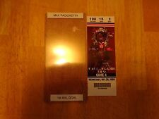 Max Pacioretty Autographed  1st AHL Goal Ticket  Free s/h