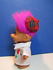"ARTIST/PAINTER - 5"" Russ Troll Doll - NEW IN BAG - Last Ones In This Hair Color"
