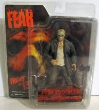 "MEZCO JASON VOOHEES 2008 CINEMA OF FEAR FRIDAY THE 13TH 7"" FIGURE TOY COMPLETE"