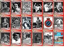 Liverpool 1976 UEFA Cup winners football trading cards
