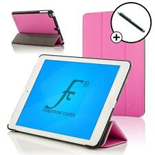 Forefront Cases Leather Pink Smart Folding Case Cover Apple iPad Air 2 Stylus