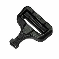 "AustriAlpin ITW GT Cobra Male Adjustable 45mm-1 3/4"" FG45MMV Plastic Half Buckle"