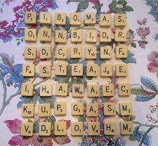 VINTAGE Scrabble Brooches/ Badges- Personnalised Gift/ Favour- Letters- Initials