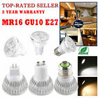 Super 12W MR16/E27/GU10 4x3W LED Lamp Spot light Warm Cool White Bulb Downlight
