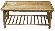 Deluxe Bamboo Tiki Patio Deck or Indoor Coffee Table Free Shipping