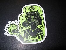 JACKIE O'S PUB Firefly Amber Ale Logo STICKER decal craft beer brewery brewing