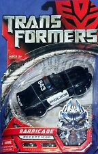 Transformers Movie Deluxe Class Deception BARRICADE Police Car Mustang New
