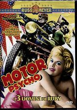 MOTOR PSYCO i 3 uomini di Ruby (Russ Meyer) - DVD NUOVO E SIGILLATO, 1a STAMPA