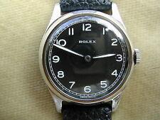 C.1950 Caballero de Rolex en acero, Buen Estado, Reparado, calibre 710.