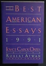 The Best American Essays 1991 ed. by Joyce Carol Oates HB/DJ 1st ed. NEW Cond.
