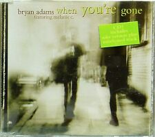 BRYAN ADAMS 'WHEN YOU'RE GONE CD1' 3-TRACK CD