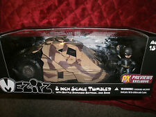 "DC COMICS THE DARK KNIGHT RISES 2"" SCALE TUMBLER BATTLED DAMAGED BATMAN & BANE"