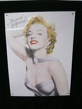 MARILYN MONROE METAL SIGN - BERNARD OF HOLLYWOOD -  CMG WORLDWIDE, INC.